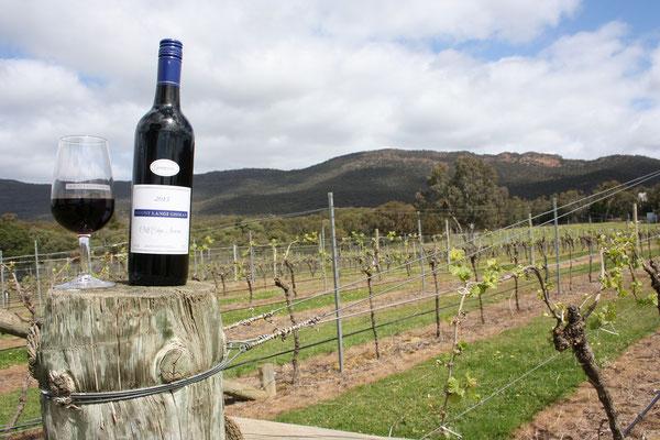 Essen in Australien Wein aus dem barossa Valley