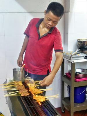 Reiseführer Malakka Malaysia  Jonker Street Nachtmarkt