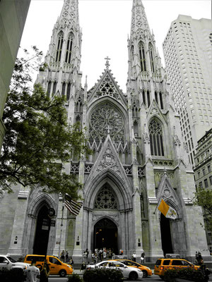 Orte in New York City : St. Patricks Cathedral