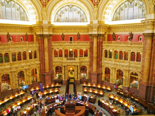 reisebericht washington kongress bibliothek