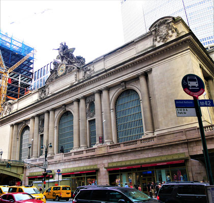 New York Reisebericht: Grand Central Station