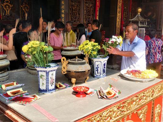 Malakka Reisebericht Cheng Hoon Teng Tempel
