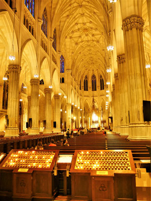 New York Reisebericht: St. Patricks Cathedral