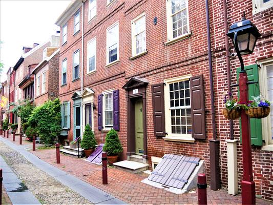 Philadelphia Reisetipps Elfreth's Alley