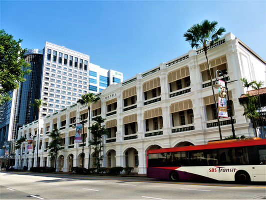 Reisebericht Singapur Raffles Hotel