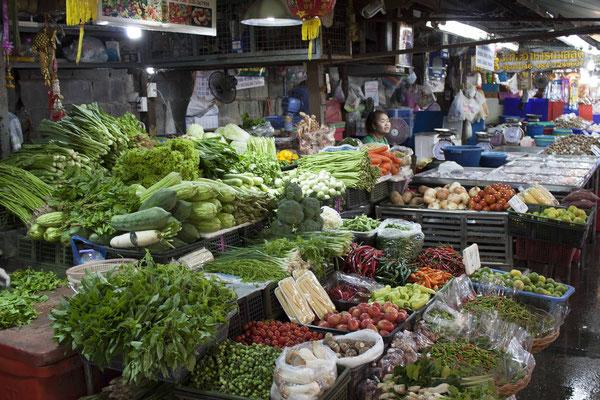 Sukhothai Sehenswürdigkeiten - Morning Market