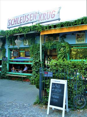 : Biergarten Schleusenkrug