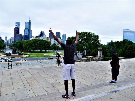 Philadelphia Sehenswürdigkeiten Rocky Steps