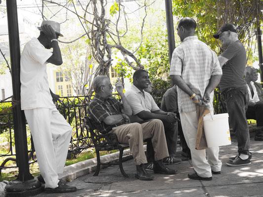 Trinidad Kuba Sehenswürdigkeiten Plaza Mayor