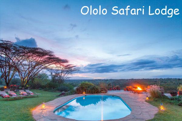 Kenia Nationalparks Lodges - Ololo Safari Lodge