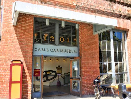 Reisebericht San Francisco  cable car museum
