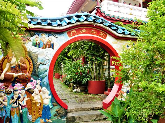 Penang Sehenswürdigkeiten Kek Lo Si Tempel