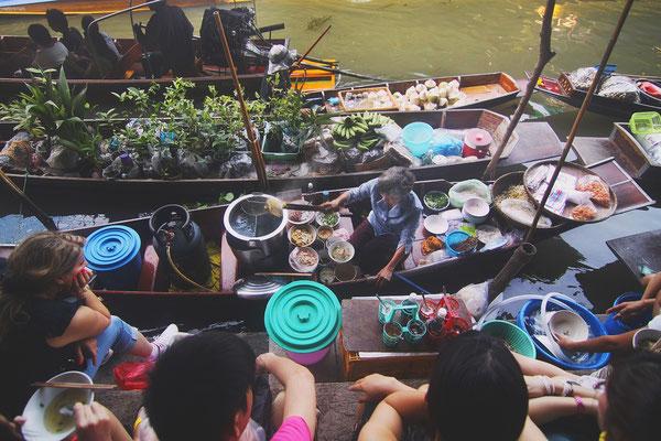 Thailand Ayutthaya Tipps -  Bootnudeln