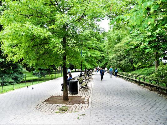 Bekannte Plätze in New York City