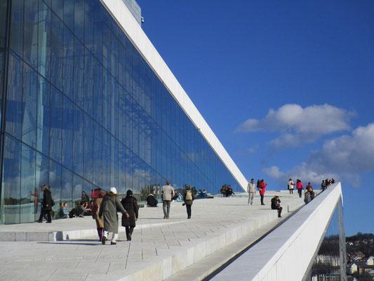 Oslo Reisebericht Opernhaus