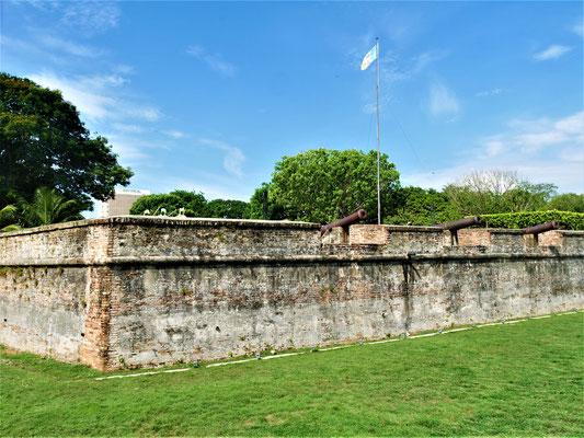 Georgetown Penang Reisebericht Fort Cornwallis