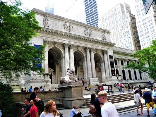 New York Reisebericht: Public Library