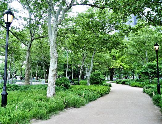 New York Parks Battery Park