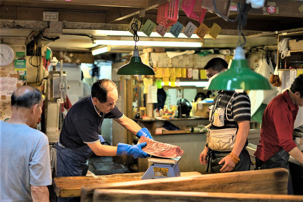 Tokio Reise und Urlaub Tipps Fischmarkt