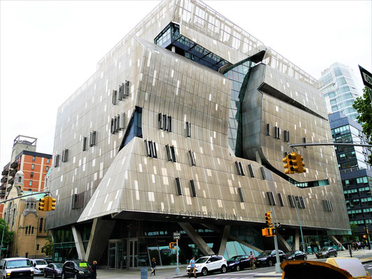 New York Reisebericht: Cooper Union Building