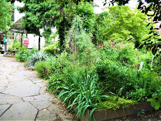 Bekannte Plätze in New York City Community Gardens