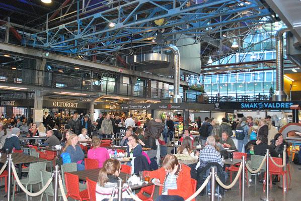 Oslo Sehenswürdigkeiten Markthalle