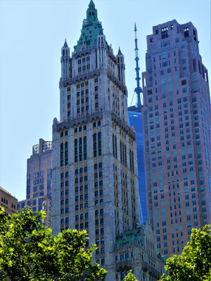 liste hochhäuser new york: Woolworth Building