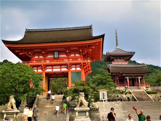 Kyoto Sehenswürdigkeiten Top 10 - Kiyomizu-dera