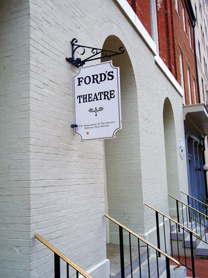 washington reisetipps ford's theatre