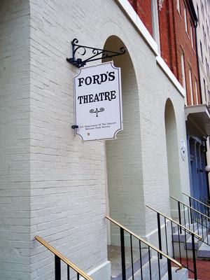 washington reisetipps ford's theatre