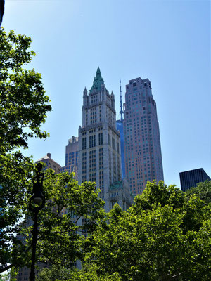 bügeleisenhaus new york: Woolworth Building