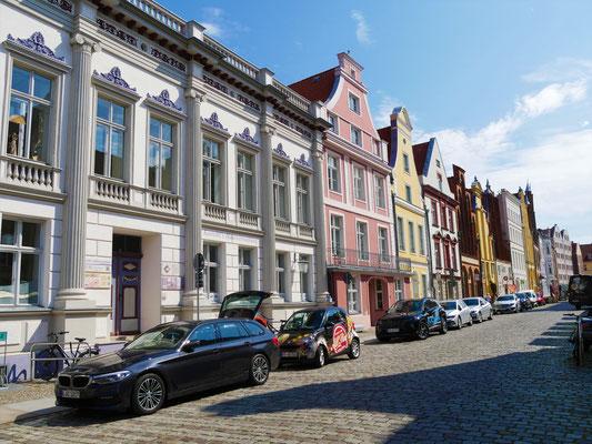 Stralsund Sehenswürdigkeiten Giebelhäuser