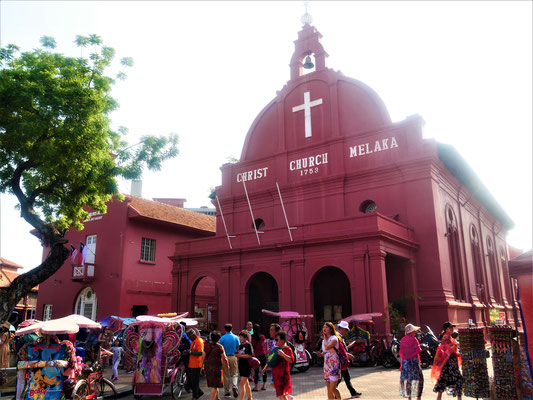 Melaka Reiseblog: Red Square