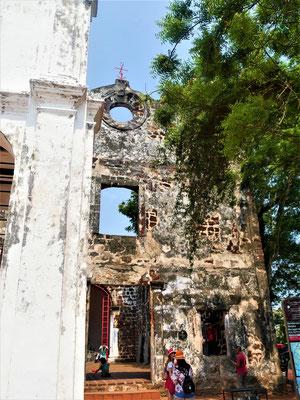 Malakka Unterkunft und Hotel Empfehlung  St. Paul's Church