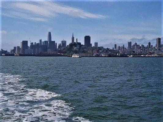 San Francisco Sehenswürdigkeiten hafenrundfahrt