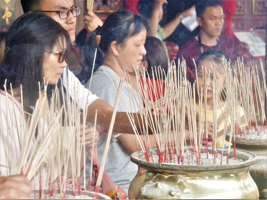 Malakka Unterkunft und Hotel Empfehlung Cheng Hoon Teng Tempel