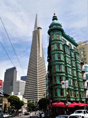 San Francisco Sehenswürdigkeiten transamerica pyramid