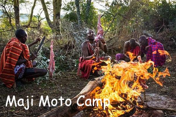 Kenia Safari Lodge Maji Moto Camp