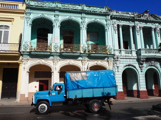 Havanna Reisebericht Paseo del Prado