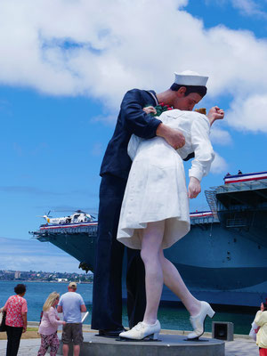 San Diego Reisebericht Unconditional Surrender