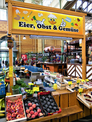 Berlin kulinarisch : Markthalle Arminius Moabit