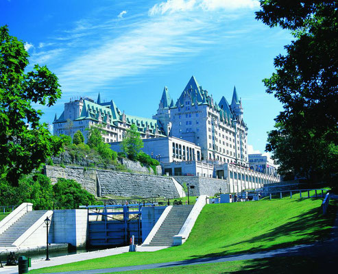 Ottawa Reise Tipps Fairmont Chateau Laurier