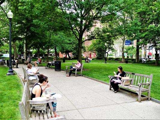 Philadelphia Reise Ritterhouse Square
