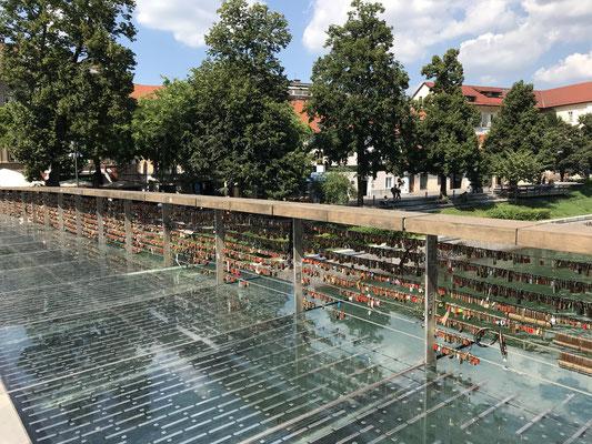 Ljubljana Sehenswürdigkeiten Fleischer Brücke
