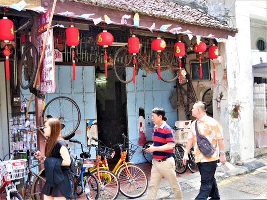Georgetown Malaysia Sehenswürdigkeiten Armenian Street