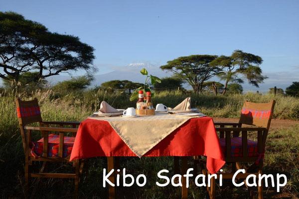 Kenia Luxus Lodges Kibo Safari Camp