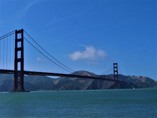 Reisebericht San Francisco golden gate bridge