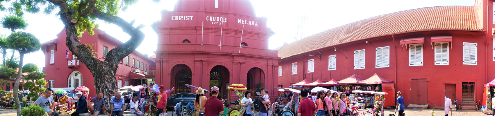 Melaka Reisetipps: Red Square