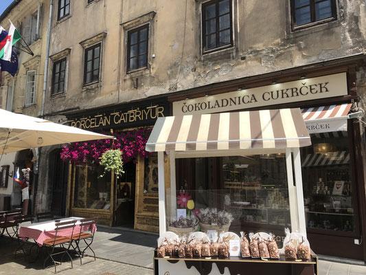 Ljubljana Sehenswürdigkeiten Essen und Trinken