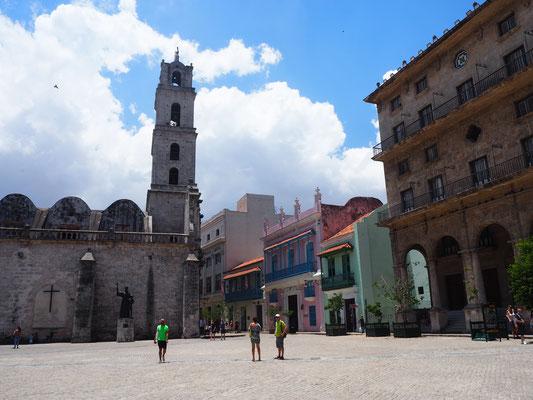 Kuba Havanna Sehenswürdigkeiten  Plaza de la Catedral
